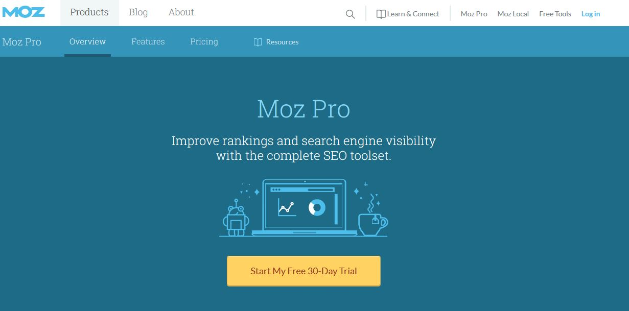 Website Tools Moz